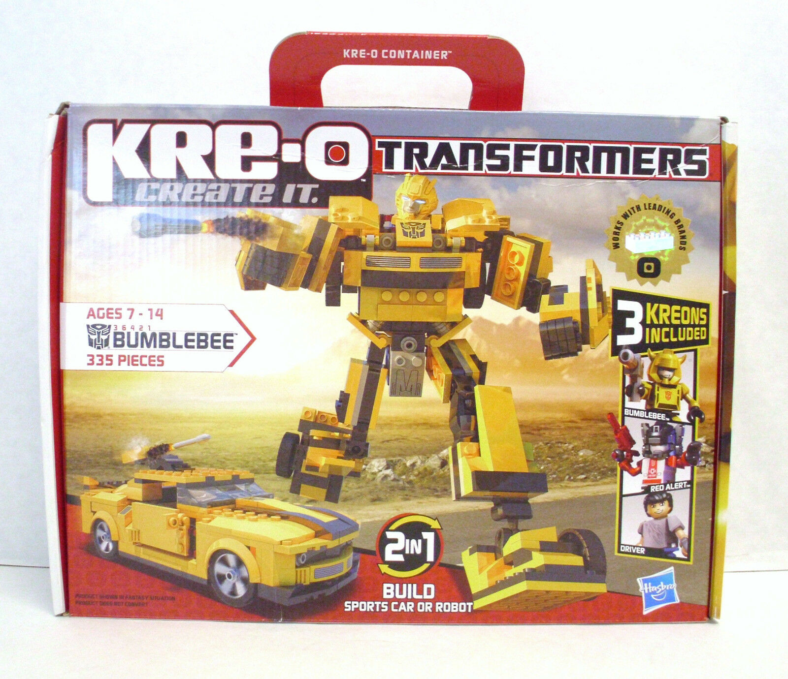 Kre-o transformatoren hummel bau set auto - oder 3 kreons enthalten.