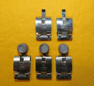 FRACO-Lotto-composto-da-N-2-coppie-pinzette-1-in-acciaio-inox-x-appendi-films