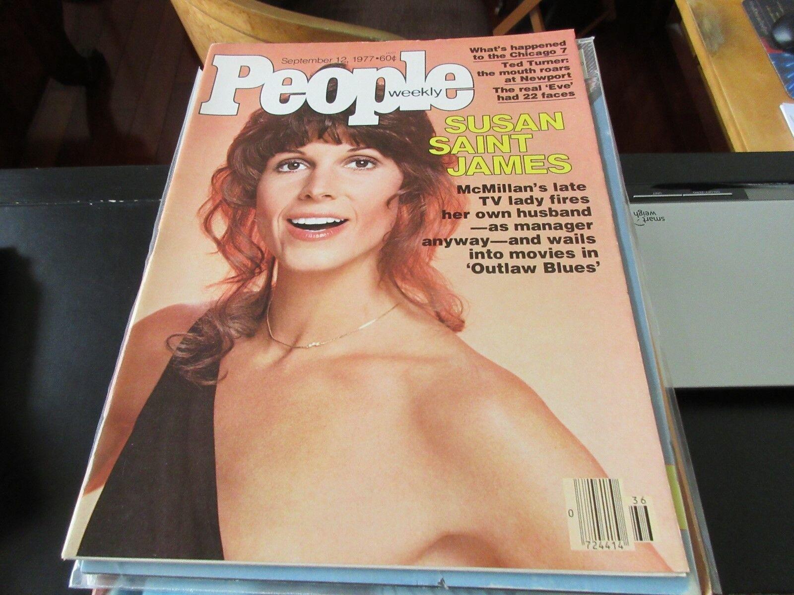 Susan Saint James , People Weekly , September 12 ,1977