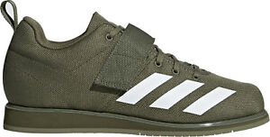 Details about adidas Powerlift 4.0 Mens Weightlifting Shoes Green Gym Bodybuilding Boots Lift