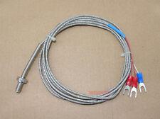 Waterproof RTD PT100 Temperature Sensors Probe M6 Thread  x1pcs