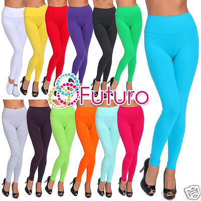 Full Length Leggings Hight Waist Casual Activewear Gym Yoga Pants Sizes 8-20 Lwp HüBsch Und Bunt