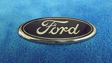 FORD Blue And Chrome Exterior Car Emblem Badge Nameplate OEM P/N YL84-7843500-AB