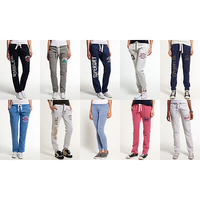 New Womens Superdry Joggers Selection - Various Styles & Colours
