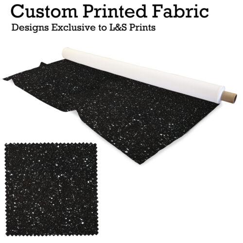 Nuit étoilée 3 Motif Imprimé Tissu Lycra élasthanne Aloba Polyester l/&s Prints