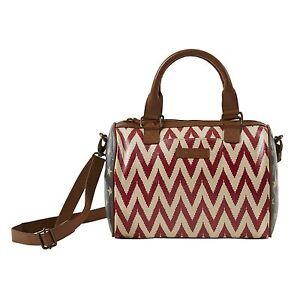 Victorian-Heart-Bella-Taylor-Antebellum-Satchel-Crossbody-Canvas-Handbag-New-NIP