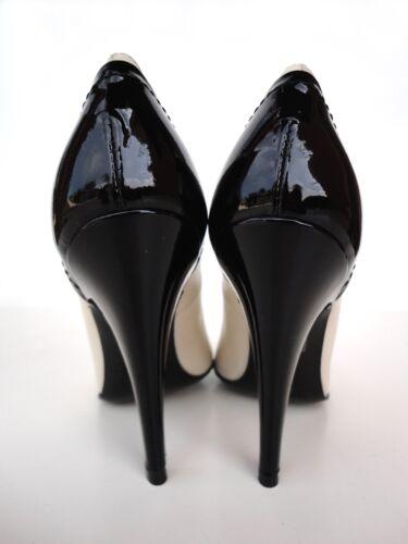 Beige Stiletto Nude Decolte Schuhe Ernest Nero Pumps Leather Heels 40 Black FUWdAWwq0n