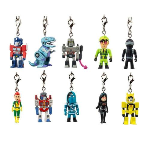 Megatron kidrobot Transformers vs G.I NEW Joe Keychain Series