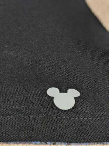 Mickey Mouse  Iron On Transfer logo various colours 10cm wide