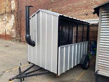 Moberg 250 Gallon Mobile Bbq Smoker Trailersmokehouse Used