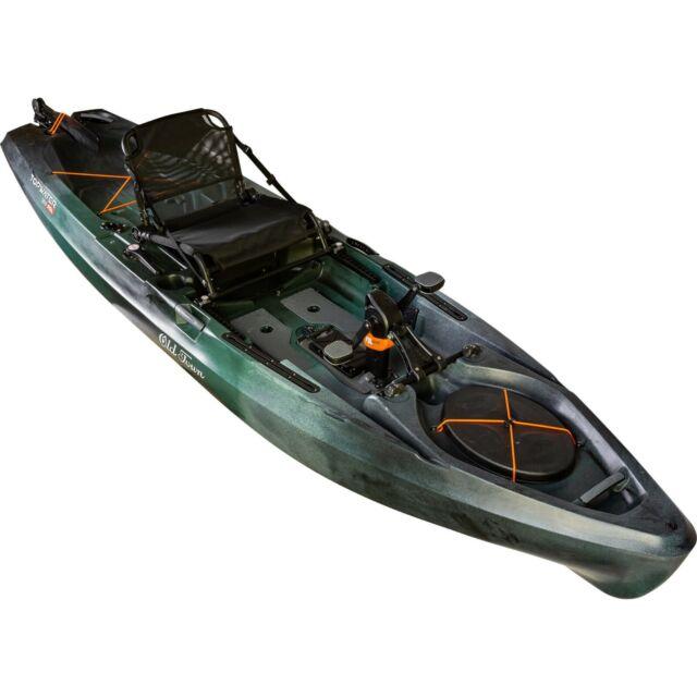 Old Town Topwater 120 Pdl Advanced Pedal Fishing Kayak Boreal