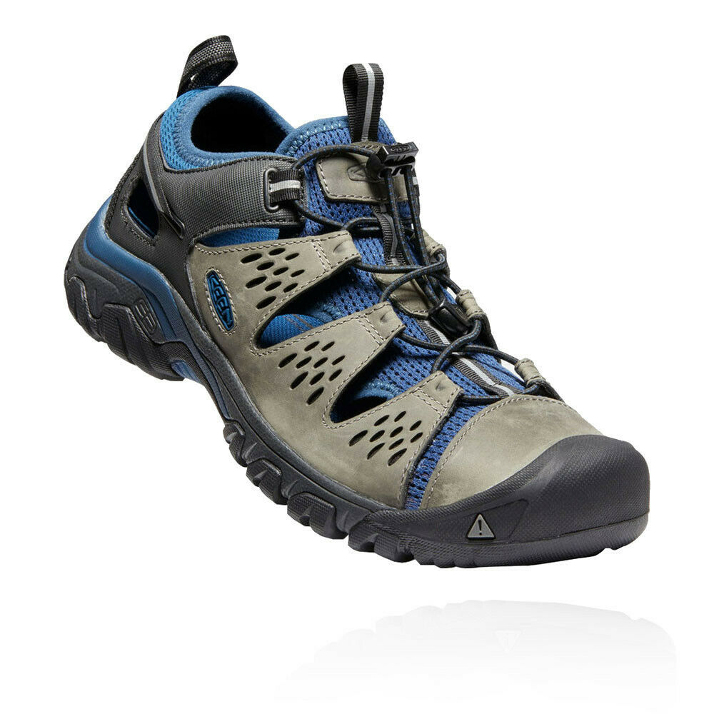 Keen Herren Arroyo III Walking schuhe Sandals Blau grau Sport Draußen Breathable