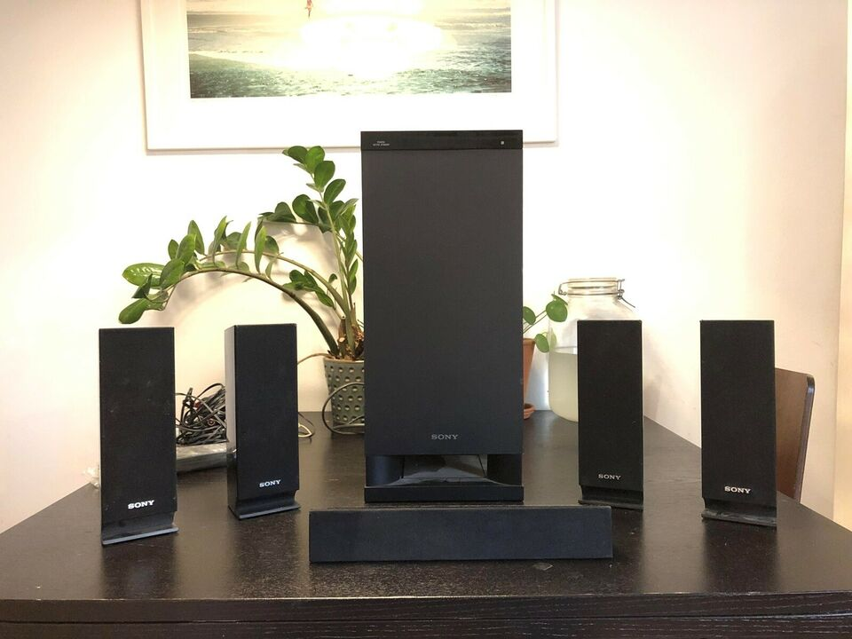 5.1 højttalersæt, Sony, Surround sound