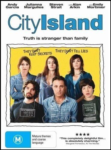 1 of 1 - CITY ISLAND (Andy GARCIA Juliana MARGULIES) COMEDY Film DVD (NEW SEALED) Reg 4