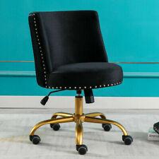 Home Office Chair Velvet Computer Task Desk Chair Adjustable Swivel Chair Stools