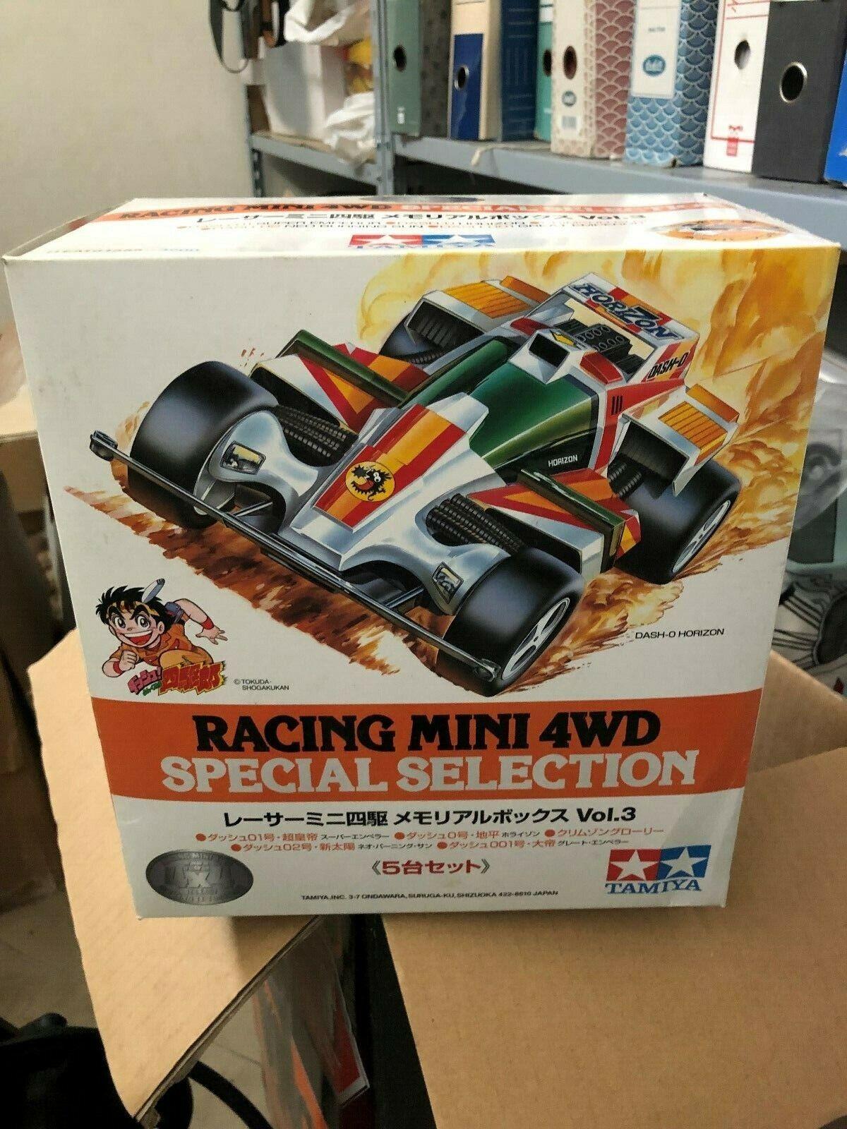 Tamiya Racer Mini 4Wd Memorial Box Vol.3