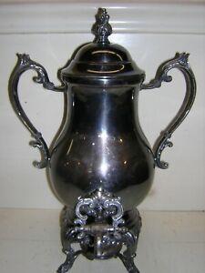 F B Rogers 1883 2354 Silver Coffee Urn