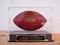 Display Case For Your Eli Manning New York Giants Autographed Football