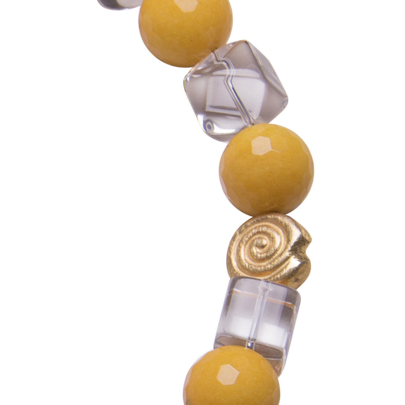 CATENA COLLIER MURANO Montagna Cristallo Sterling argentoo gioielli fatti a a a mano Necklace f6034d
