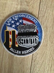 NYPD PAPD Port Authority Police Law Enforcement Fallen Heroes Patch