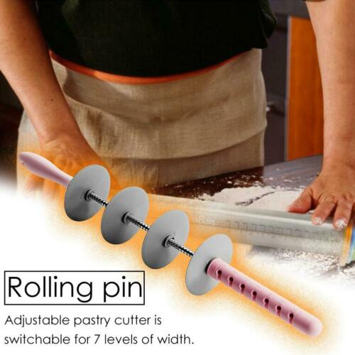 Adjustable Rolling Pin Multifunctional Bread Slicer Noodle Forming Mold
