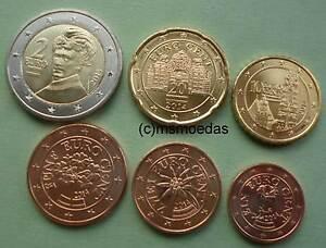 Oesterreich 6 Euro Münzen 2014 Mit 1251020 Cent2 Euro