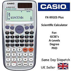 Free express post! New casio fx991es plus scientific calculator.