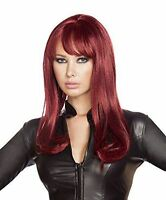 Roma Costume Women's Burgendy Wig, Burgundy, One Size Cosplay Halloween