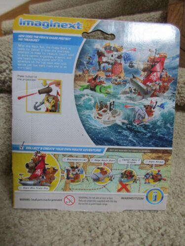 Fisher Price Imaginext Shark Mech Suit Pirate Adventure Missile Sword Figure NIB