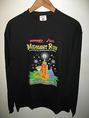 NYC Midnight Run 1998 Tee - Vintage New York City Continental Airlines T Shirt L