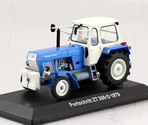 Fortschritt ZT 300-D 1979 Traktor 1:43 Hachette//UH Modellauto
