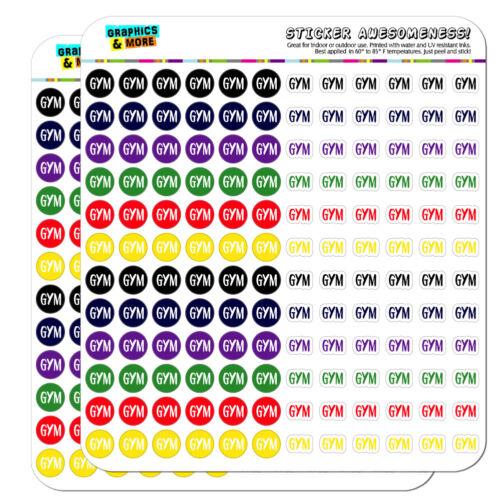 Gym Dots Planner Calendar Scrapbooking Crafting Stickers