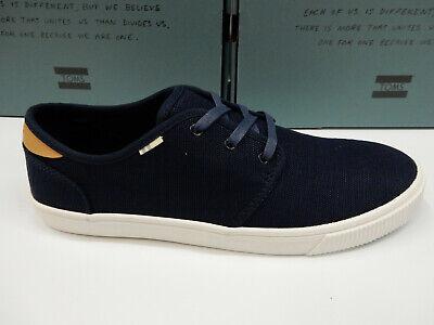 Toms Mens Carlo Sneakers Navy Heritage