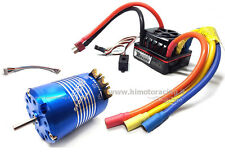 COMBO ROCKET BRUSHLESS CLASSIC 540 17.5T STOCK SPEC 3mm ESC 120A 1/10 SENSORATO