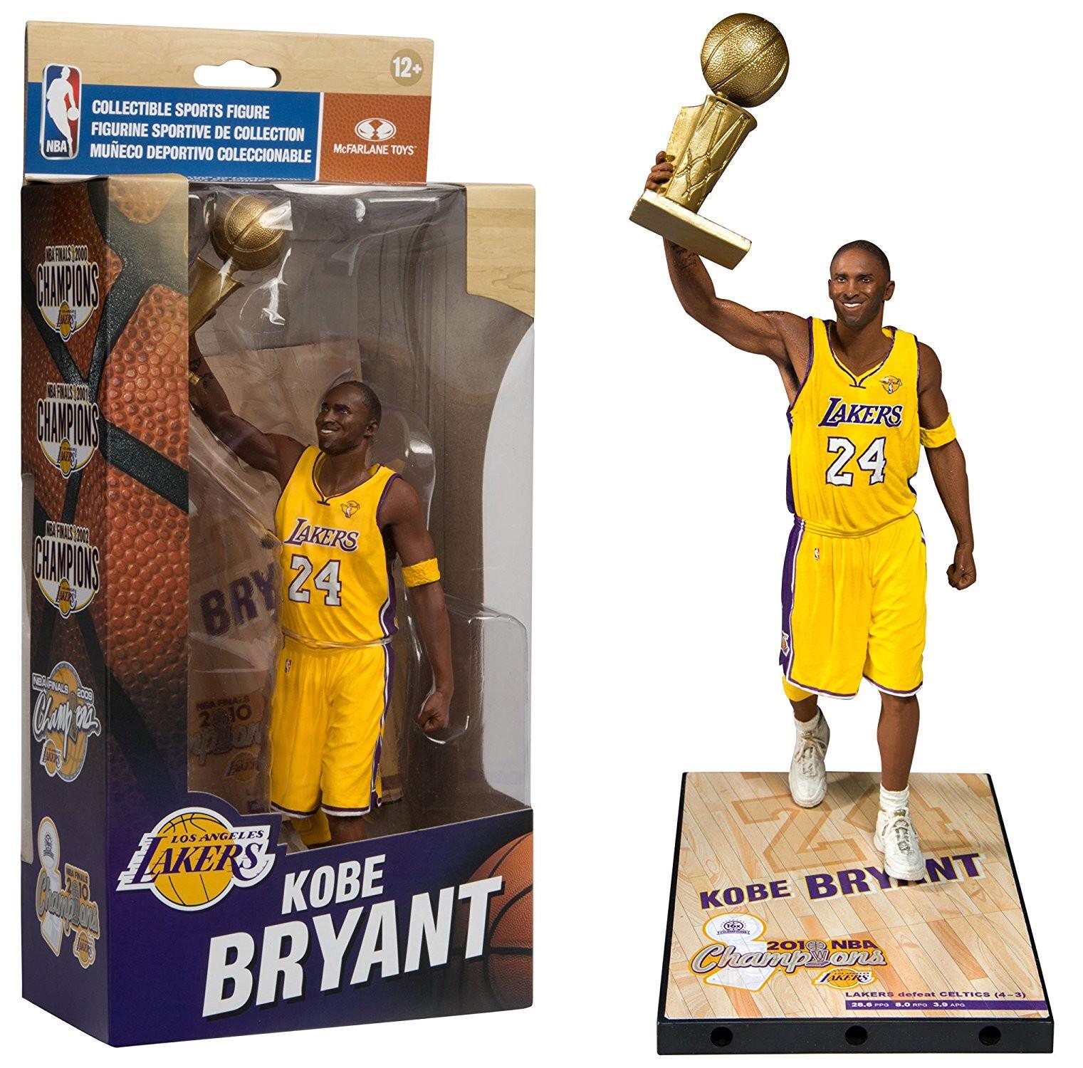 McFarlane Toys NBA  KOBE BRYANT (2010) FIGURE  Limited Ed. Championship Series