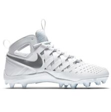 huge discount 14487 a5117 item 2 Nike Huarache V LAX White Metallic Silver Lacrosse Football Cleats  807142-100 -Nike Huarache V LAX White Metallic Silver Lacrosse Football  Cleats ...