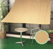 Shatex 12ftx12ft 90% UV Block Sunscreen Shade Panel Patio/Window/RV Awning W/ Gr