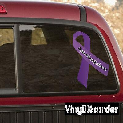 Esophageal Cancer Vinyl Wall Decal or Car Sticker