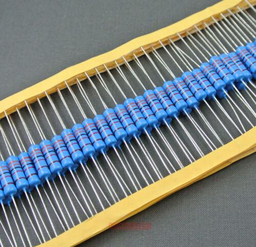 400 un 2 Watt Metal Film Resistor Surtido 2W 0.33R-3.3M