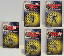 Vintage Saban's Masked Rider LOT OF 5 COLLECTIBLE MINI FIGURES  by BAN DAI