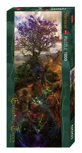 "NEW Heye Jigsaw Puzzle Game 1000 Pieces Tiles ""Magnesium Tree"" - Enigma Trees"