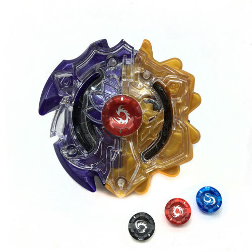 Hot Beyblade Burst B-00 DUO ECLIPSE SUN AND MOON GOD BEY With Launcher Grip