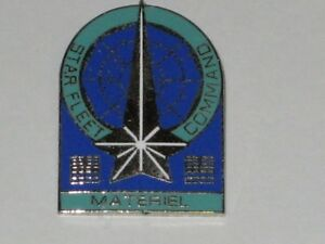 Star-Trek-Starfleet-Command-Materiel-Branch-Insigna-Pin-Badge-STPIN67