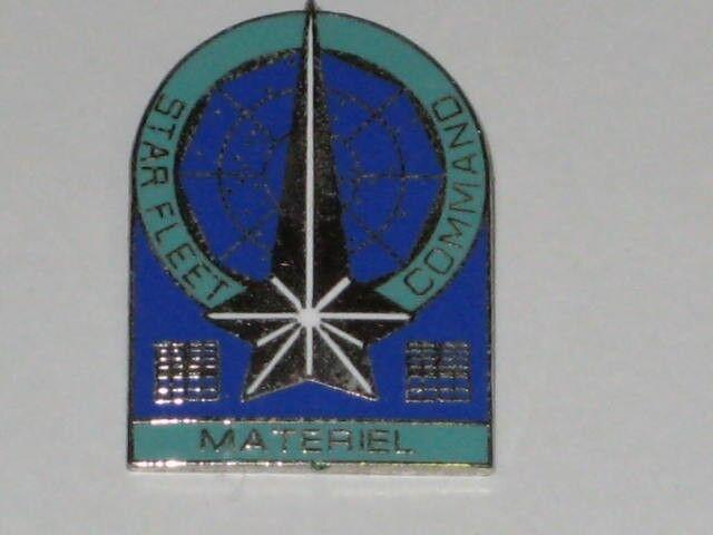 Star Trek Starfleet Command Materiel Branch Insigna Pin Badge STPIN67
