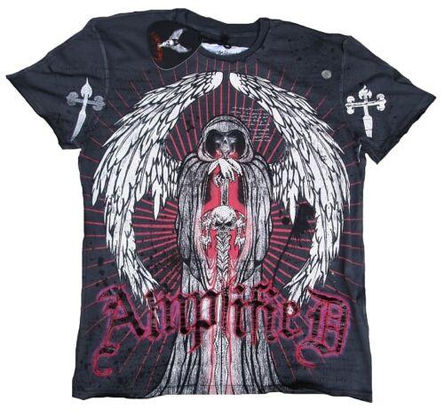shirt T da di Amplified Rock Caldo Sinner Star Xxl uomo Teschio Star Rock Reaper Tattoo qq1nwd4r