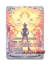 Buddyfight x 4 Disposition of the Chief [H-EB04/0076EN R] English Mint Future Ca