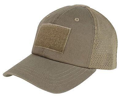 Condor Tactical Mesh Cap Hat - Brown -  TCM-019