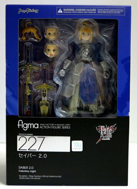 Anime Fate//stay night Saber 2.0 figma 227 PVC Figure New In Box 15cm