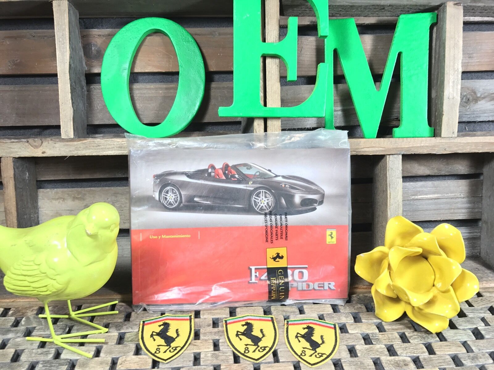 F430 SPIDER OWNERS MANUAL ((ITALIAN VERSION)) NOS OeM)) NEW FERRARI on 1994 chevy astro wiring diagram, 1971 ford pinto wiring diagram, 96 s10 wiring diagram, 1974 vw karmann ghia wiring diagram, 1960 triumph tr3 wiring diagram, 1997 saturn sl1 wiring diagram,