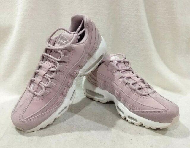 Womens Nike Air Max 95 Premium Plum Chalk Barely Rose 807443 503 Size 8